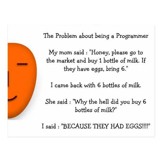 Problem about being a Programmer Funny Mum Joke