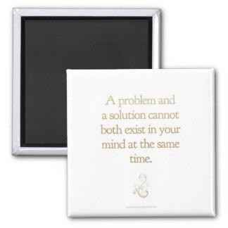 Problem-Solution Magnet