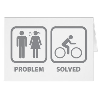 Problem Solved Cycling Card