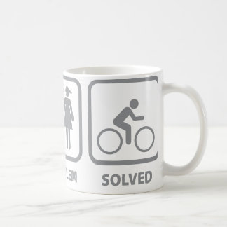Problem Solved Cycling Coffee Mug