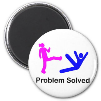 Problem Solved Magnet