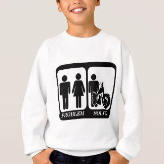Problem solved motorbike.png sweatshirt