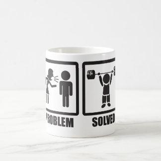 Problem Solved - Overhead Press Coffee Mug