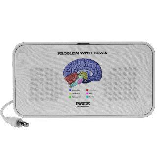 Problem With Brain Inside (Brain Anatomy) Travelling Speaker