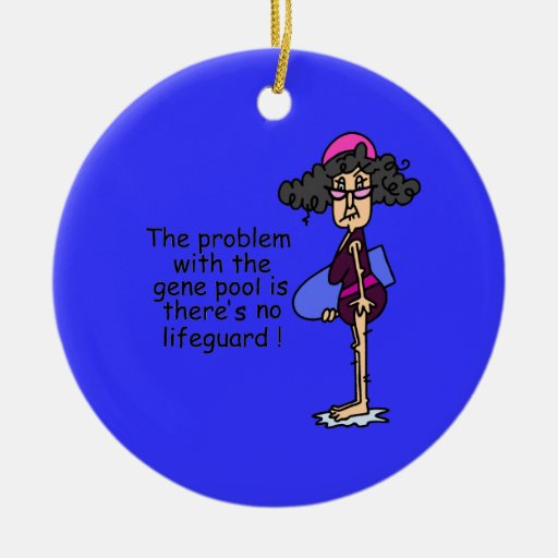 Problem With the Gene Pool Christmas Ornament