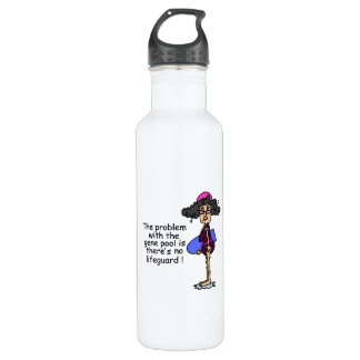 Problem With the Gene Pool 24oz Water Bottle