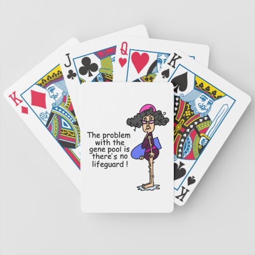 Problem With the Gene Pool Bicycle Card Deck