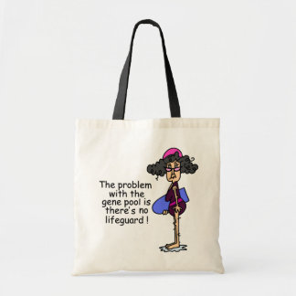 Problem With the Gene Pool Canvas Bag
