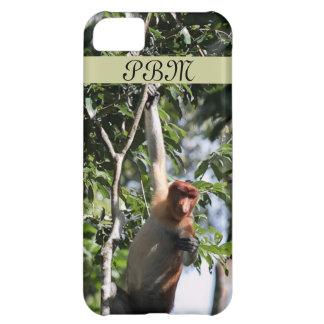 Proboscis Monkey in Borneo Rainforest iPhone 5C Case