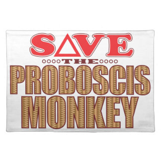 Proboscis Monkey Save Placemat
