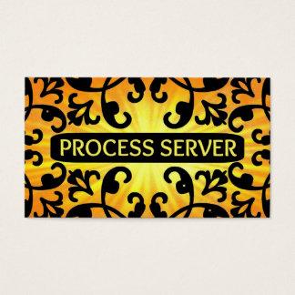 84 server business cards and server business card for Process server business card samples