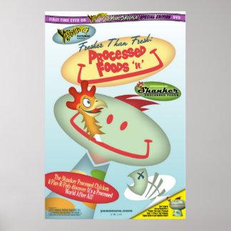 Processed Foods n U Poster
