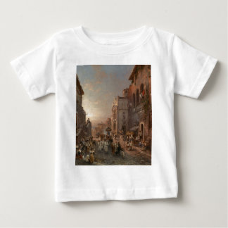 Procession in Naples by Franz Richard Unterberger T-shirts