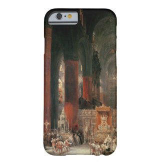 Procession in Seville Cathedral, 1833 (oil on canv Barely There iPhone 6 Case