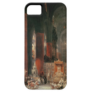 Procession in Seville Cathedral, 1833 (oil on canv iPhone 5 Covers