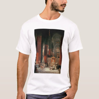 Procession in Seville Cathedral, 1833 (oil on canv T-Shirt