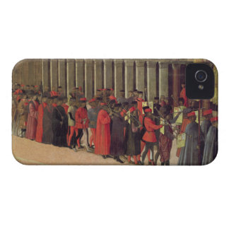 Procession in St. Mark's Square, detail of musicia iPhone 4 Case-Mate Case