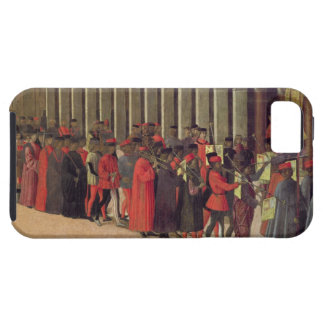 Procession in St. Mark's Square, detail of musicia Tough iPhone 5 Case