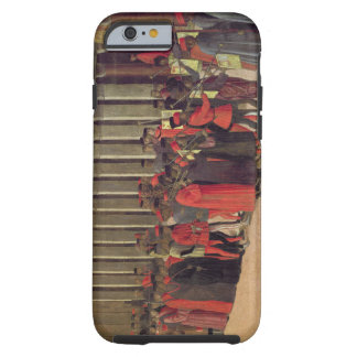 Procession in St. Mark's Square, detail of musicia Tough iPhone 6 Case