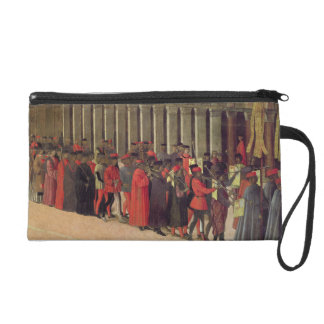Procession in St. Mark's Square, detail of musicia Wristlet