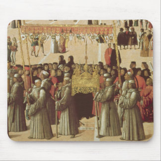 Procession in the St. Mark's Square, detail of the Mouse Mat