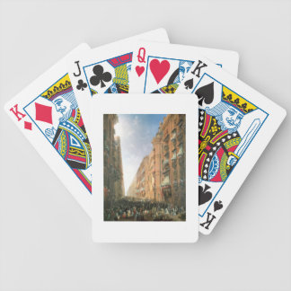 Procession of Corpus Christi in Via Dora Grossa, T Bicycle Playing Cards
