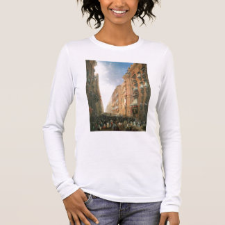 Procession of Corpus Christi in Via Dora Grossa, T Long Sleeve T-Shirt