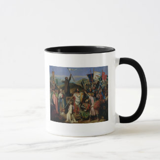 Procession of Crusaders around Jerusalem Mug