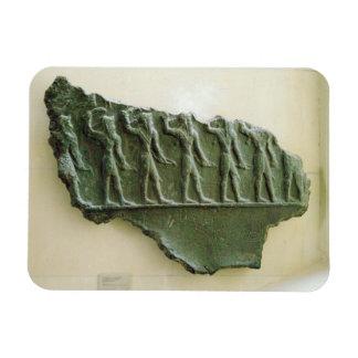 Procession of Elamite warriors, Susa, Iran, Elamit Magnet