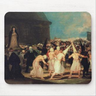 Procession of Flagellants, 1815-19 Mouse Mat