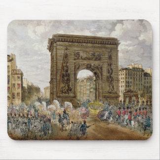 Procession of Pope Pius VII  in Paris Mouse Pad