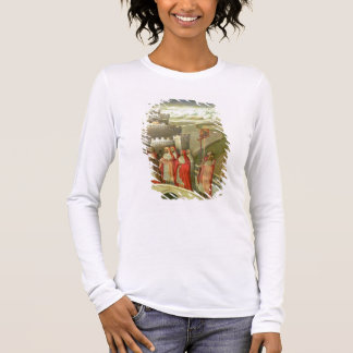 Procession of St. Gregory to the Castel St. Angelo Long Sleeve T-Shirt