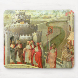 Procession of St. Gregory to the Castel St. Angelo Mouse Pad