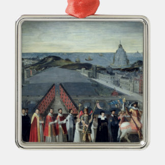 Procession of the Brotherhood of Saint-Michel Christmas Ornament