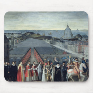 Procession of the Brotherhood of Saint-Michel Mouse Mat