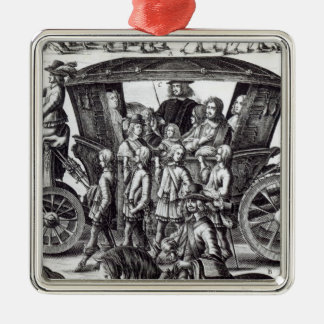 Procession of the entry christmas ornament