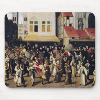 Procession of the Holy League in 1590 Mouse Mat