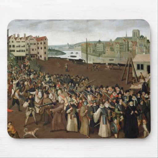 Procession of the Holy League Mousepad