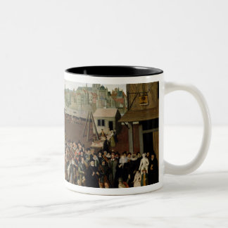 Procession of the Holy League Two-Tone Coffee Mug