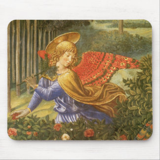 Procession of the Magi, Renaissance Angel Art Mouse Pad