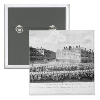 Procession of the Opening of the Estates 15 Cm Square Badge