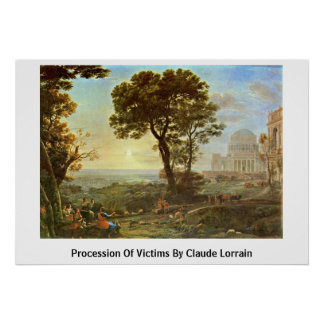 Procession Of Victims By Claude Lorrain Posters