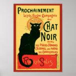 Prochainement Le Chat Noir Steinlen Fine Art Poster
