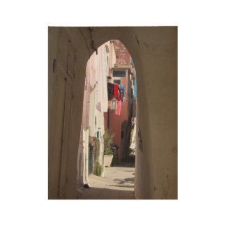 "Procida Archway Custom Wood Poster, 19"" x 14.5"" Wood Poster"