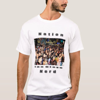 Proclaim the new Nerd Nation in all of us T-Shirt