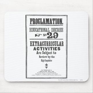 Proclamation 29 mouse mat