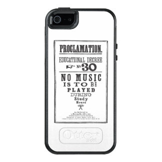 Proclamation 30 OtterBox iPhone 5/5s/SE case