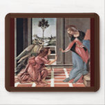 Proclamation By Botticelli Sandro (Best Quality) Mousepad
