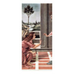 Proclamation By Botticelli Sandro (Best Quality) Rack Card Design