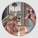 Proclamation By Botticelli Sandro (Best Quality) Sticker